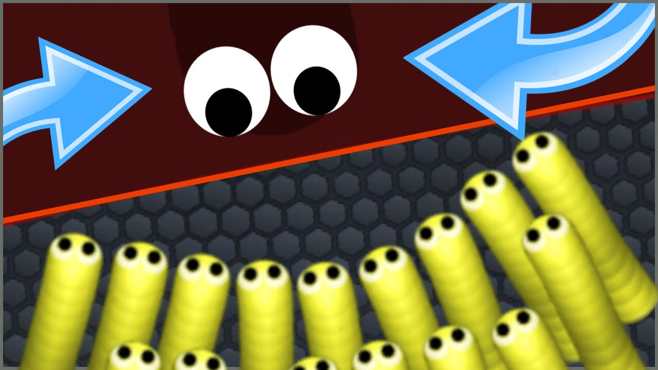SLITHER.IO TROLLING BIGGEST SNAKE! - Slither.io Edge Of Map Death ...