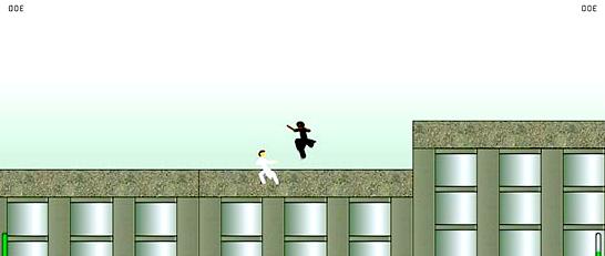 matrix fighting old game